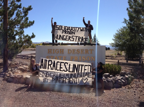 Occupy Reno and Sierra Mountain Anti-Capitalist Collective takes on the High Desert State Prison