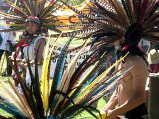 Photo: Aztec dancers