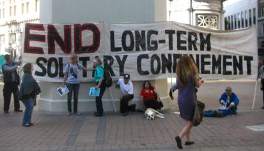 Banner: End Long-Term Solitary Confinement