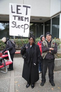 Let Them Sleep, EMERGENCY PROTEST