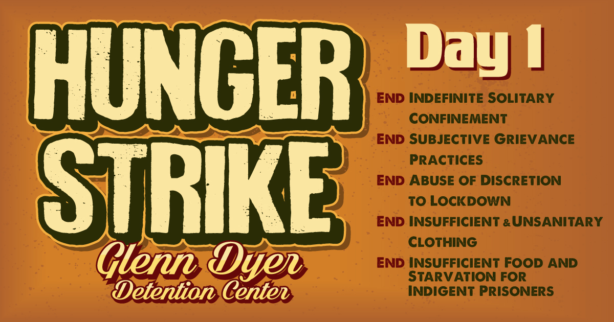Prisoner Hunger Strike Solidarity | Amplifying the voices of