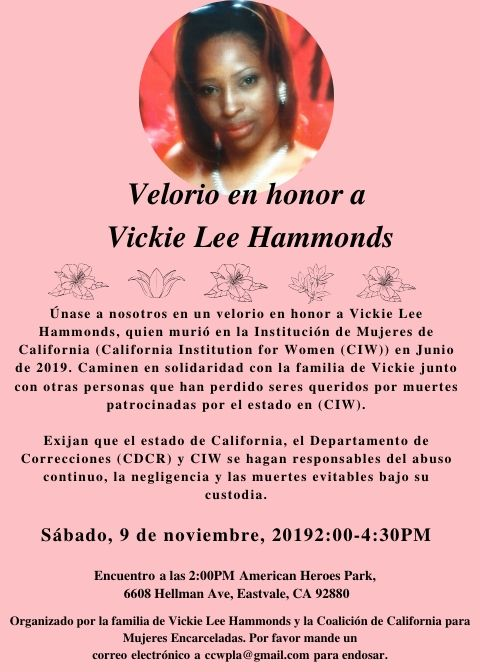 Vickie Lee Hammonds Spanish