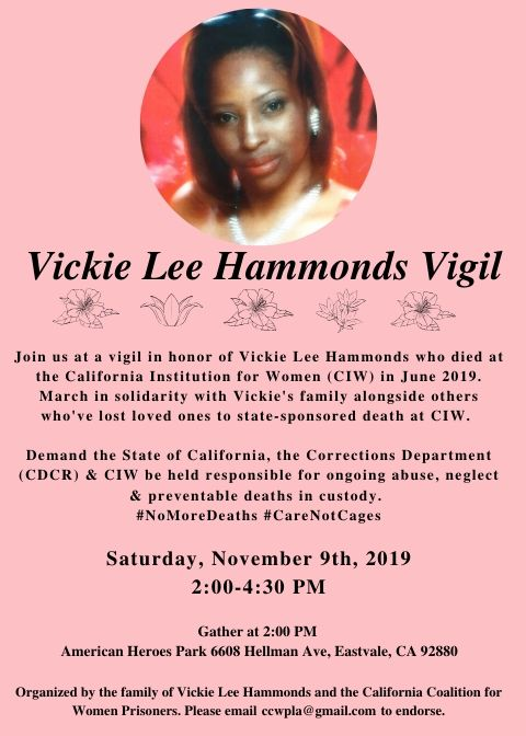 Vickie Lee Hammonds Vigil_Nov 9